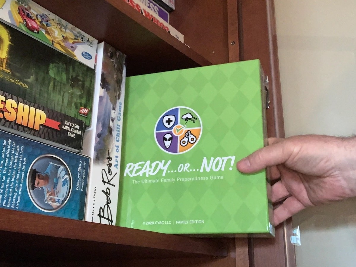 Ready or Not family board game will help change your life for today's crazy world