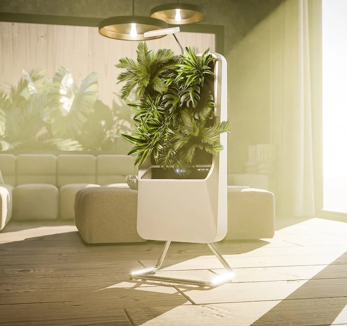 This air-purifying garden filters the air in a natural way thumbnail