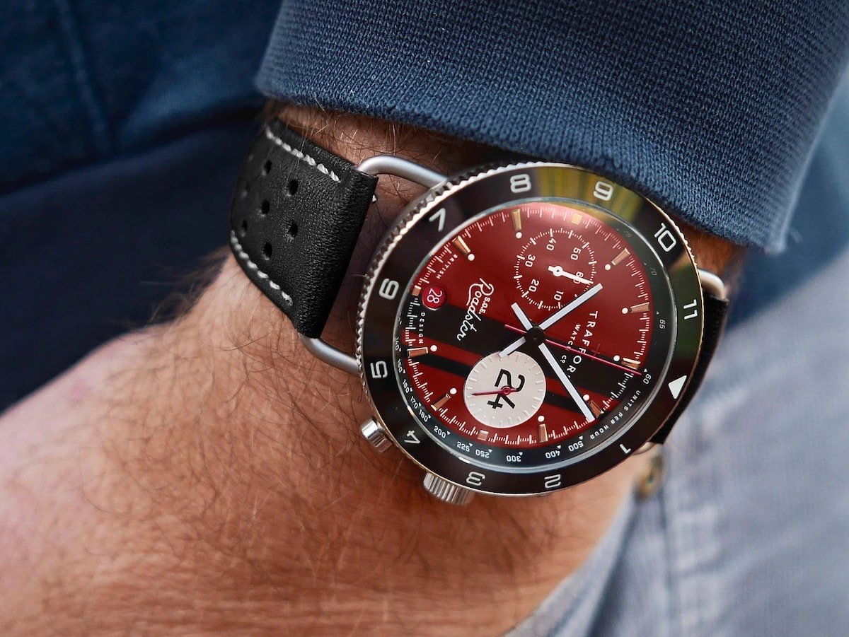 S.O.E. Roadster historical watch is based on the true story of 3 famous race car drivers
