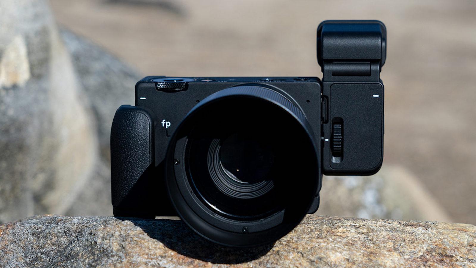 SIGMA fp L digital camera features a higher resolution 61 mp sensor than the fp camera