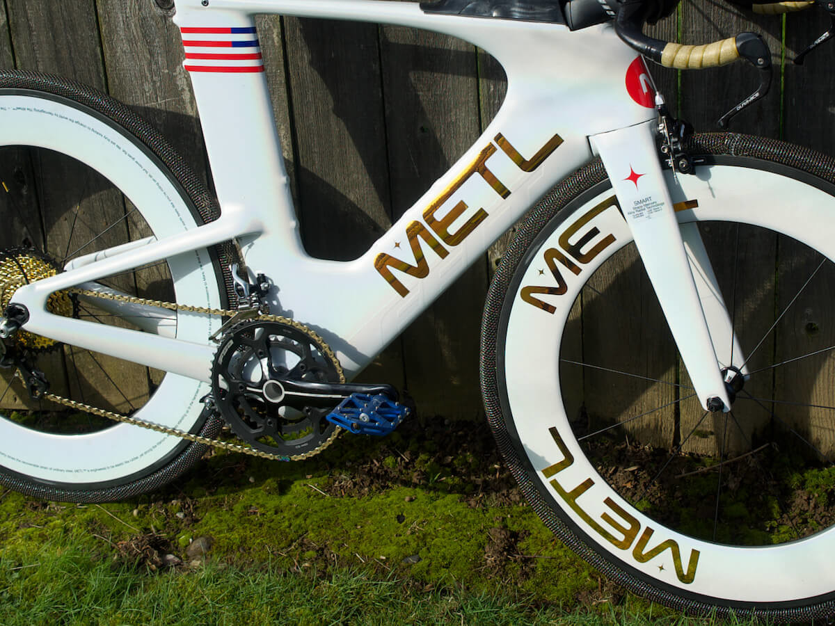 METL pneumatic smart bike tire holds its shape without ever going flat