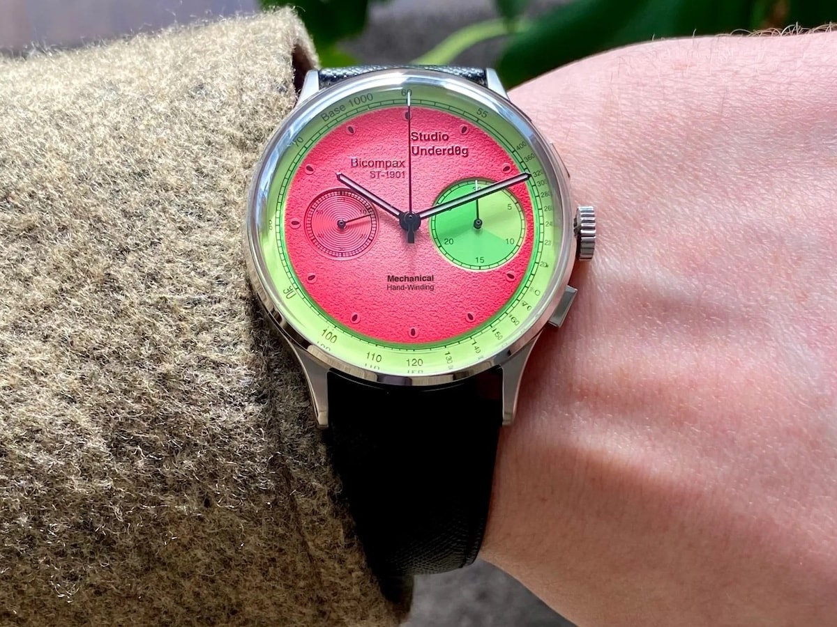 Studio Underd0g ST-1901 playful watch makes horology a little bit more fun