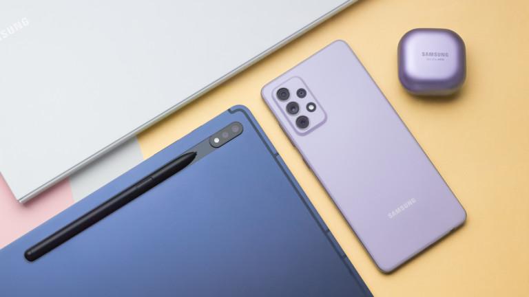 Samsung Galaxy A72 2021 smartphone boasts an Infinity-O FHD+ Super AMOLED display