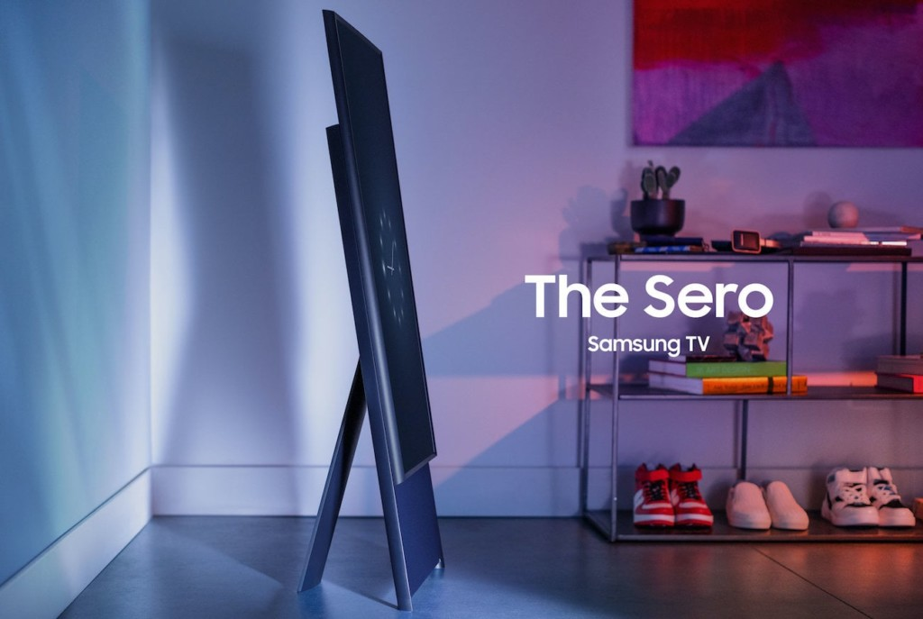 Home gadgets that are straight out of the futureSamsung The Sero 2021 rotating TV