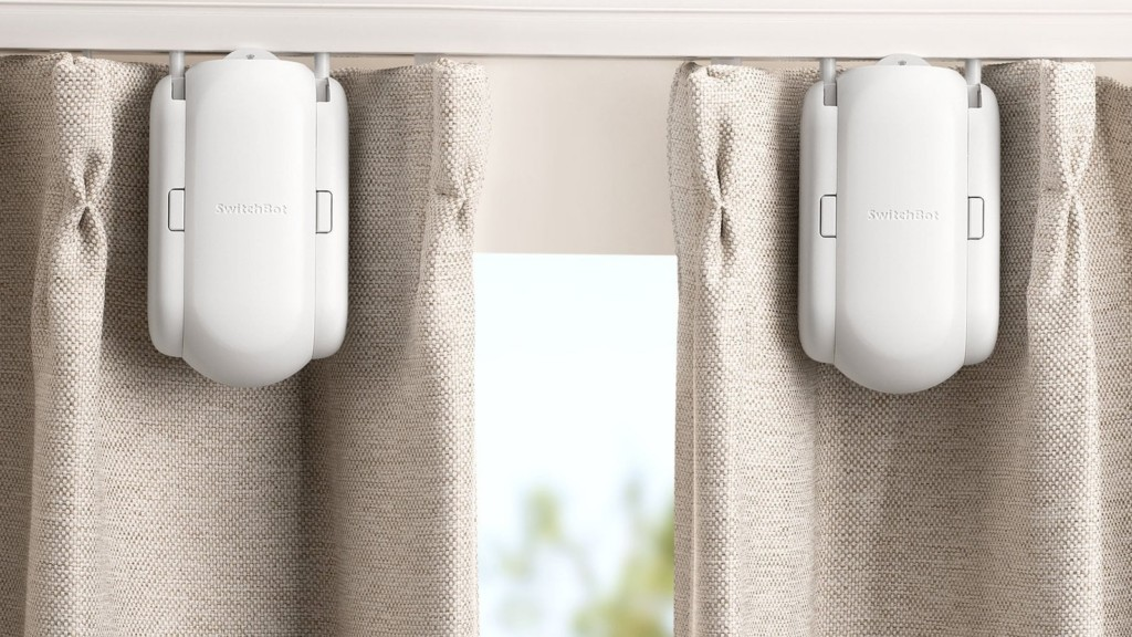 Mind-blowing gadgets for your bedroom SwitchBot Smart Curtain
