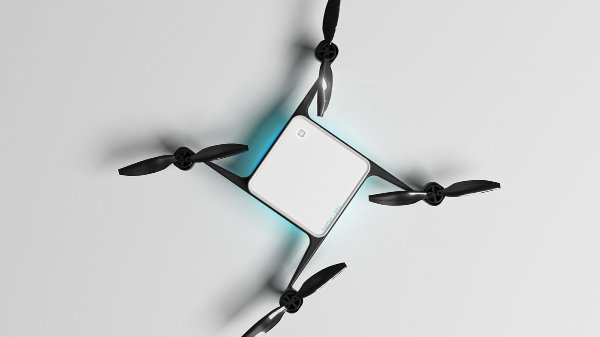The Flying Drone Blanket allows fleets of quadcopters to take off simultaneously