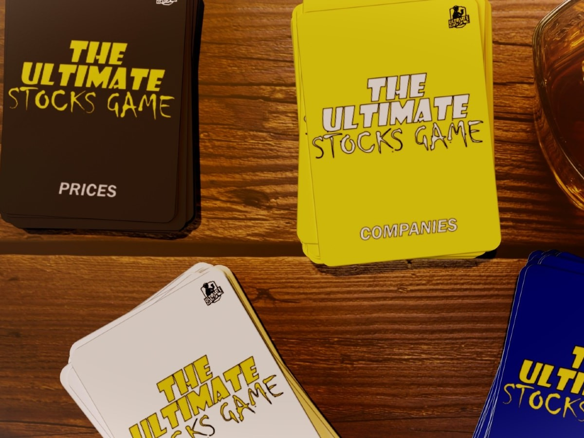 The Ultimate Stocks Game lets you buy shares and use insider tips