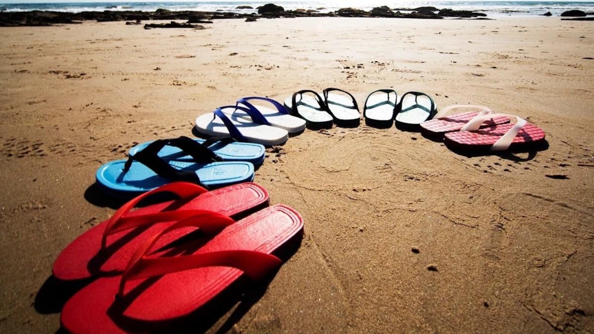 These unique 3D-printed flip-flops let you be more eco-friendly