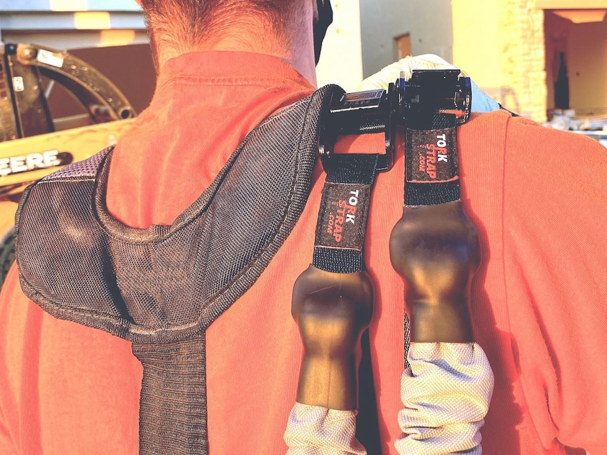 TorkStrap innovative cargo strap is safe and easy to use with no confusing mechanisms