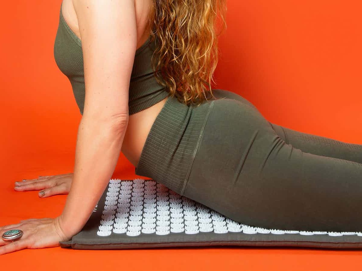 WTHN Acupressure Mat can help improve your mood and decrease stress, tension, pain
