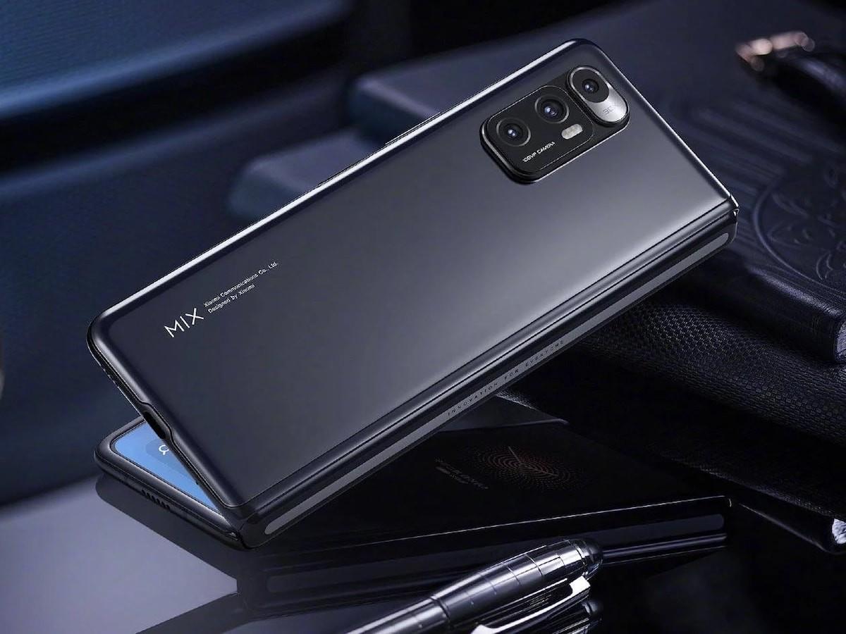 Xiaomi Mi MIX FOLD foldable smartphone has Surge C1 ISP and a Liquid Lens