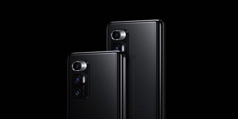 The new Xiaomi foldable smartphone has a Liquid Lens camera