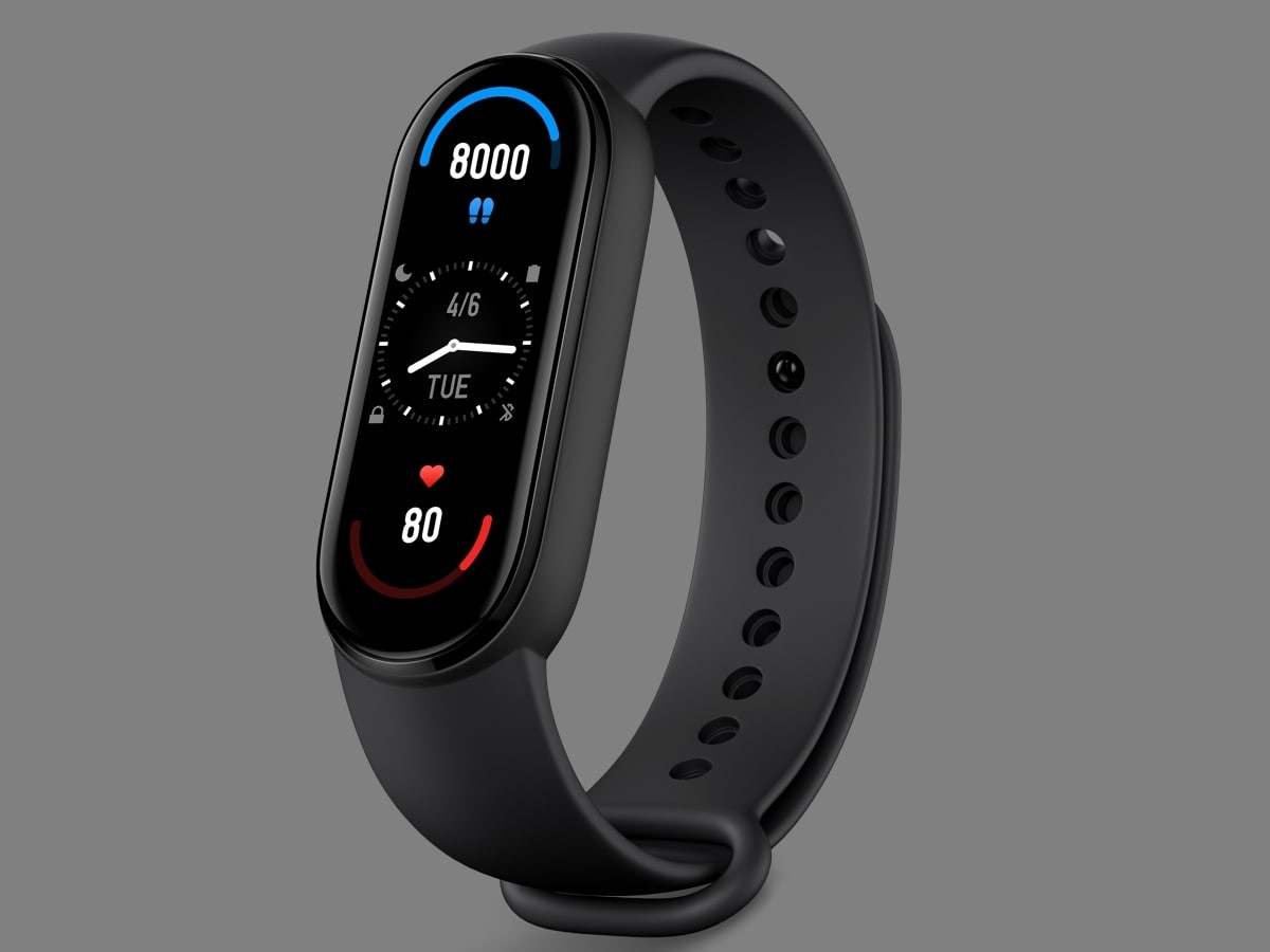 Xiaomi Mi Smart Band 6 fitness tracker includes 30 workouts & day-to-day health tracking