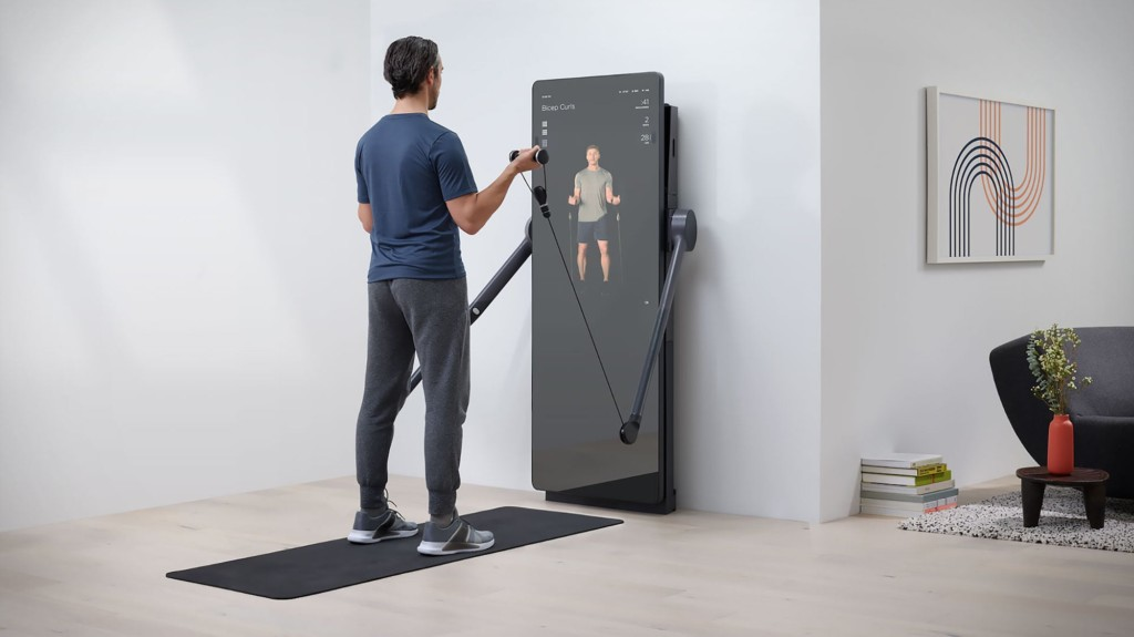 Yves Behar FORME Life connected fitness mirror