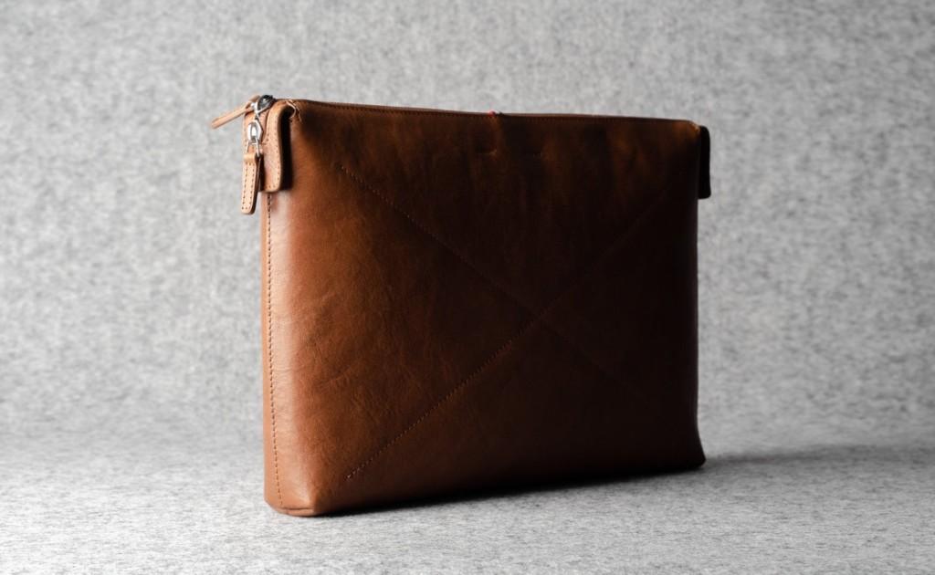 hardgraft Deep MacBook Case Leather Apple Folio