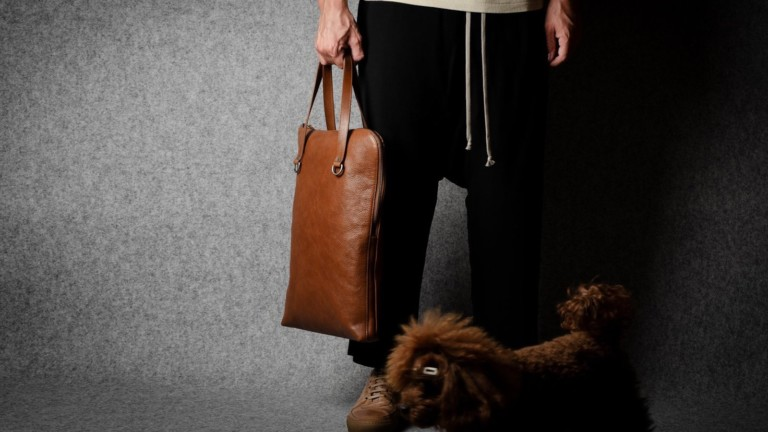 hardgraft Portrait Leather Briefcase is designed for business individuals on the go