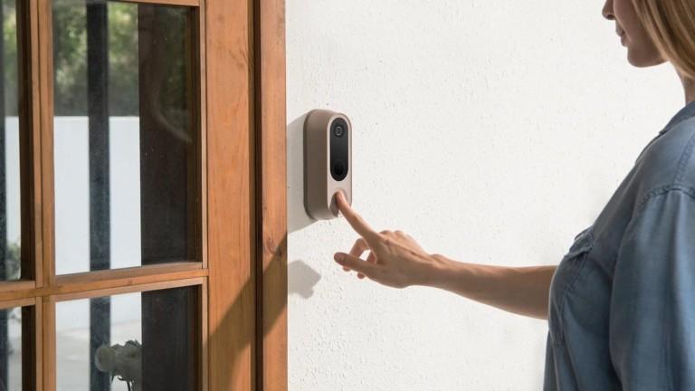 Nooie Smart Cam Doorbell has an antitheft locking mechanism & intelligent human detection