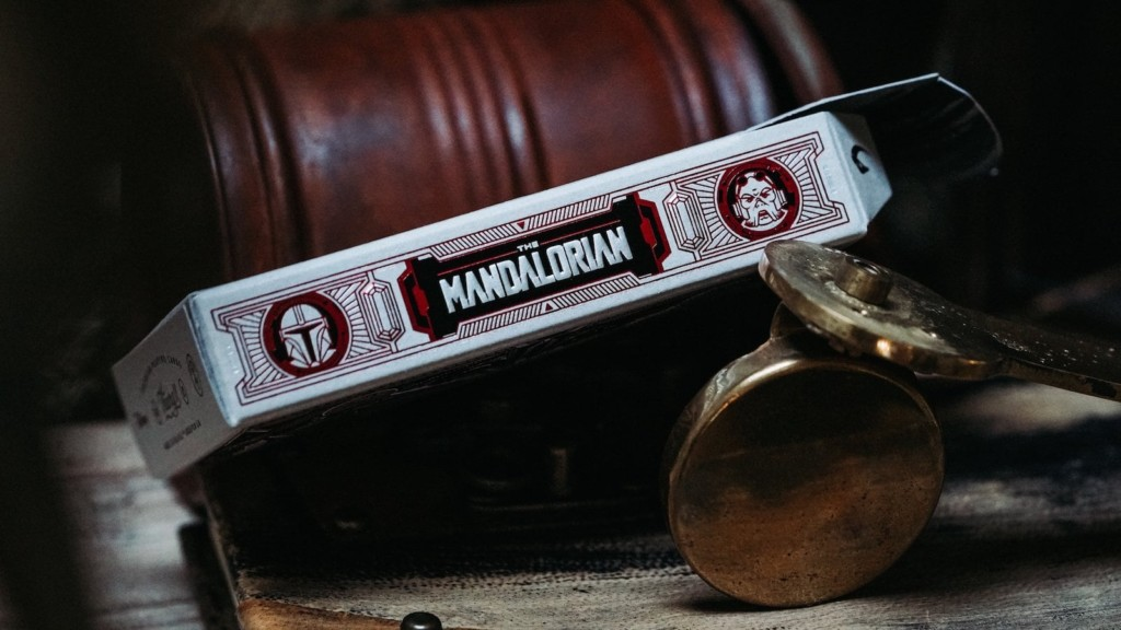 The coolest gadgets for the geeks in your life theory11 The Mandalorian Playing Cards