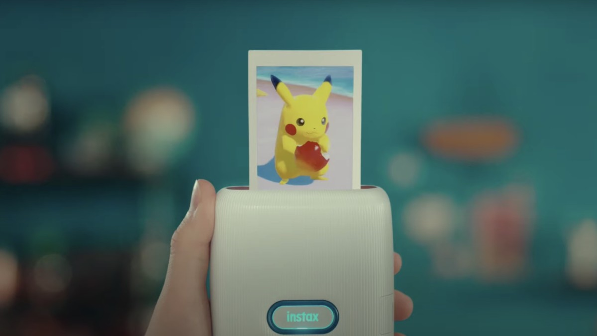 A Nintendo-themed instax printer is here