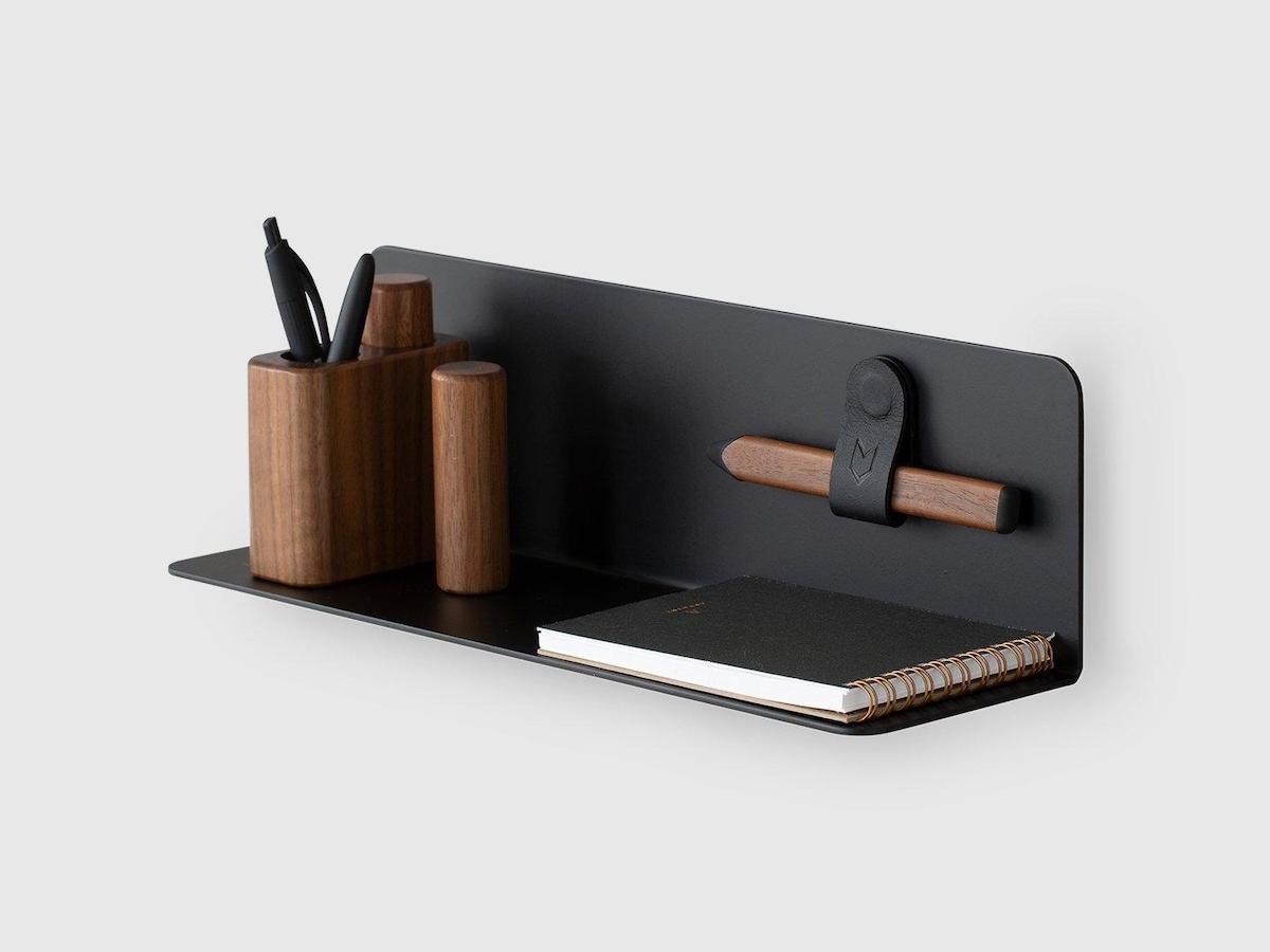 ARTIFOX Mini Wall Shelf holds small artifacts such as pens, notebooks, phones, and more thumbnail