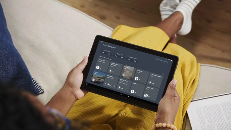 Amazon Fire HD 10 Plus tablet features a powerful octa-core processor and 3 GB of RAM