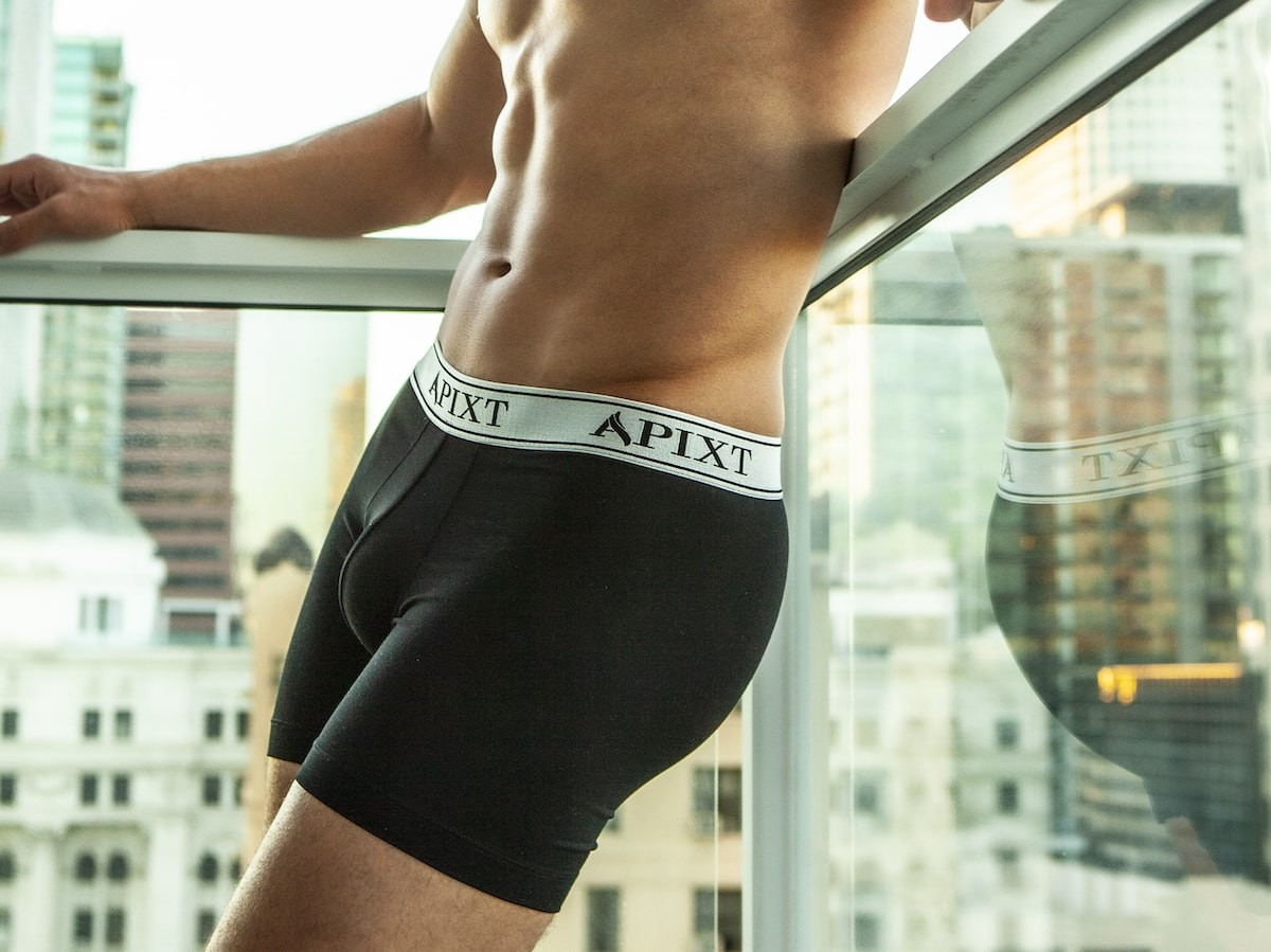 Apixt men's underwear incorporates silver for odor, sweat, and temperature control thumbnail