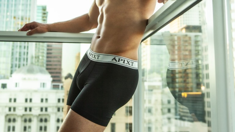 Apixt men's underwear incorporates silver for odor, sweat, and temperature control