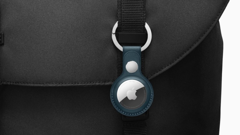 Apple AirTag iPhone accessory securely locates your iPhone with the Find My ecosystem