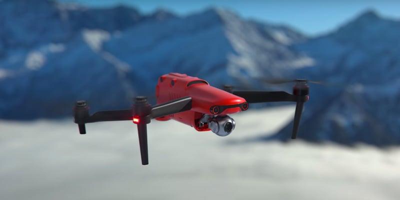 Autel EVO II Pro 6K folding drone