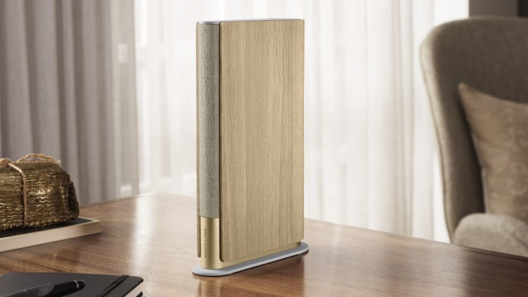 Bang & Olufsen Beosound Emerge Wi-Fi home speaker packs ultrawide sound in a slim design