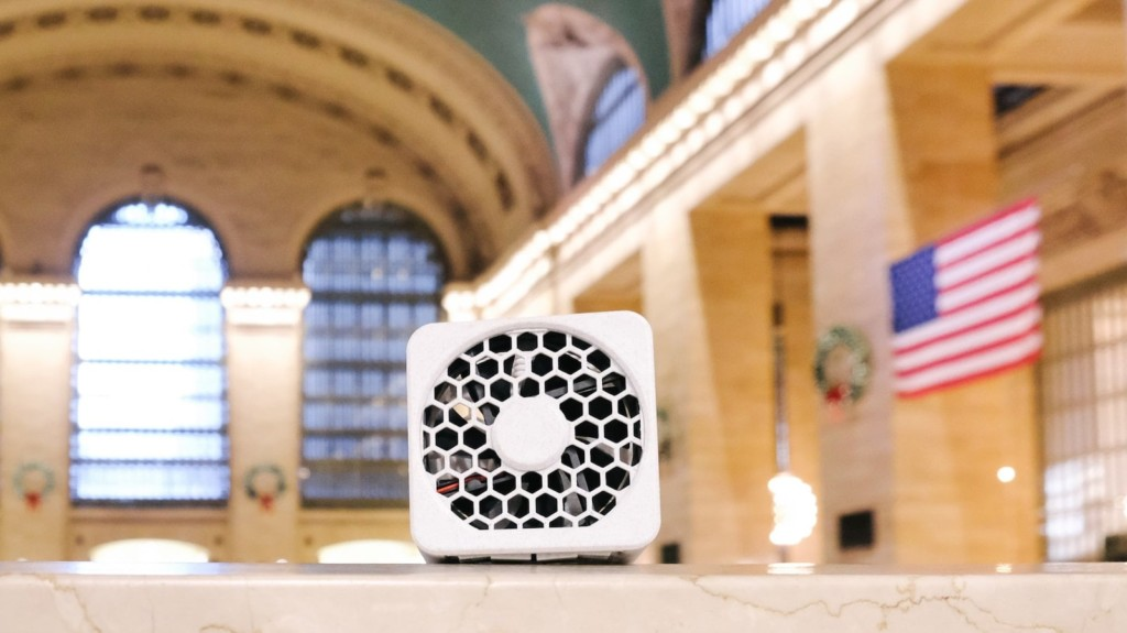 Bionic Cube portable filterless air purifier