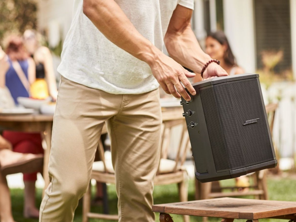 Bose S1 Pro System portable SA speaker brings the party anywhere with 11 hours of playtime