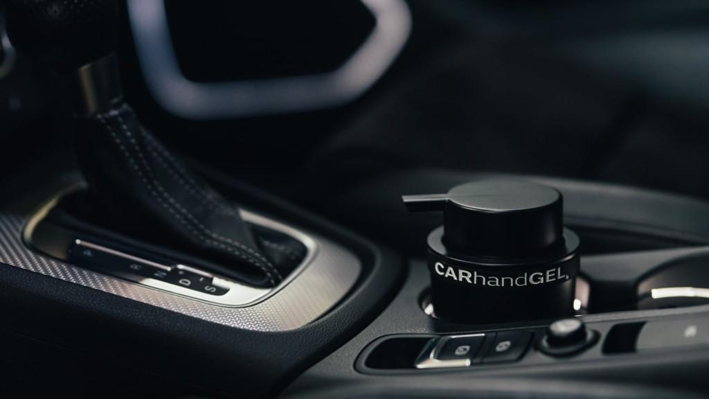 CARhandGEL Vehicle Hand Sanitizer Dispenser