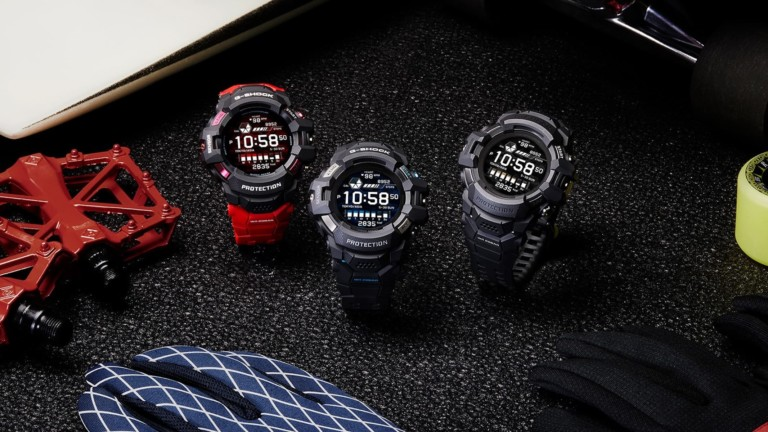 What's new in the CASIO G-SHOCK G-SQUAD PRO GSW-H1000 watch series?