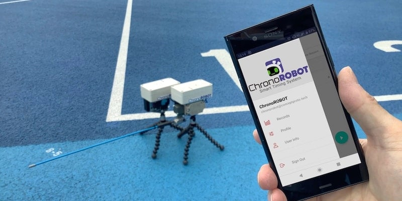 This smart sports timer makes your exercise more enjoyable ChronoROBOT smart timing system