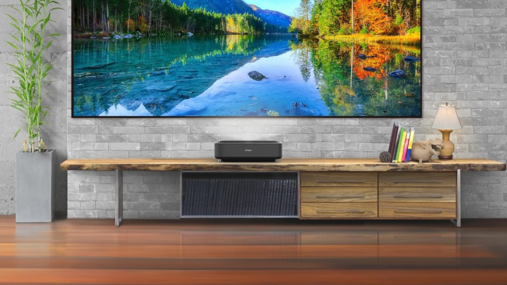 Epson EpiqVision Ultra LS300 Smart Streaming Laser Projector