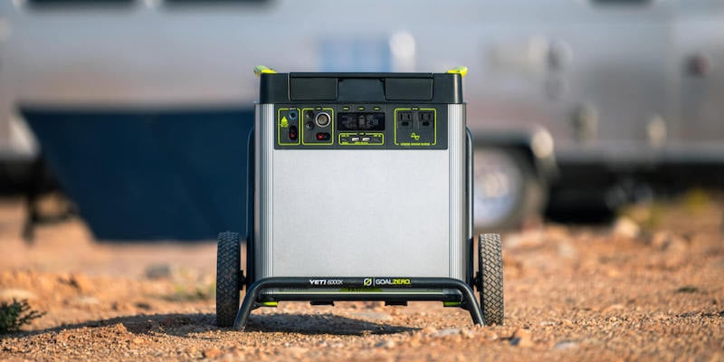 Goal Zero Yeti 6000X versatile power station