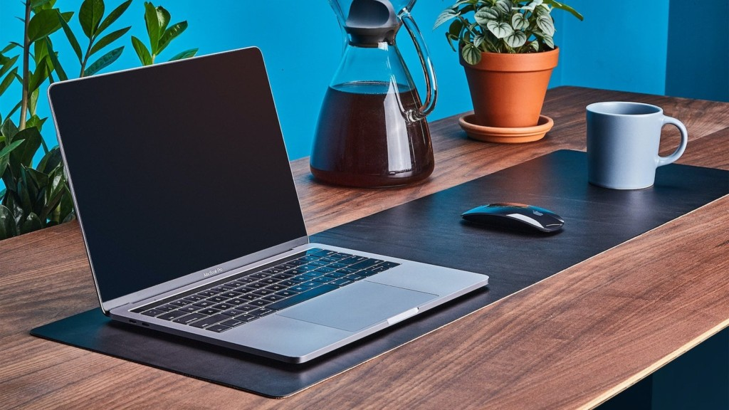 Grovemade Leather Desk Pad & Protector