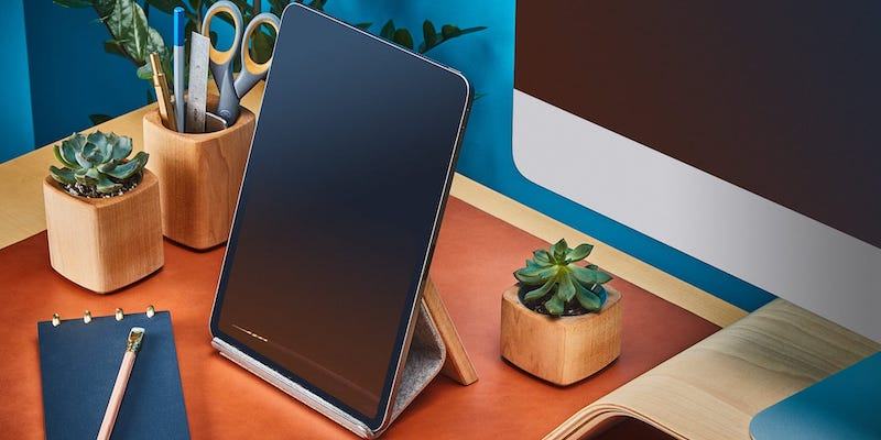 Build your dream desk setup with these desk gadgets and accessories Grovemade Wood iPad Stand