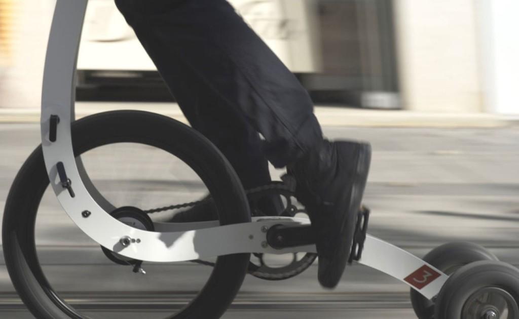 Halfbike 3 Compact Standing Bike