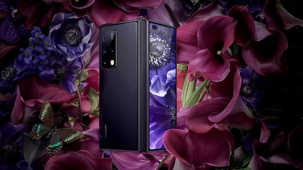 Huawei Mate X2 foldable phone