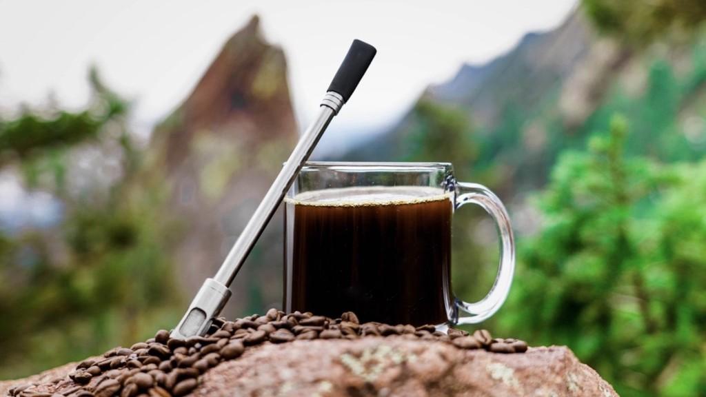 JoGo coffee brewing straw