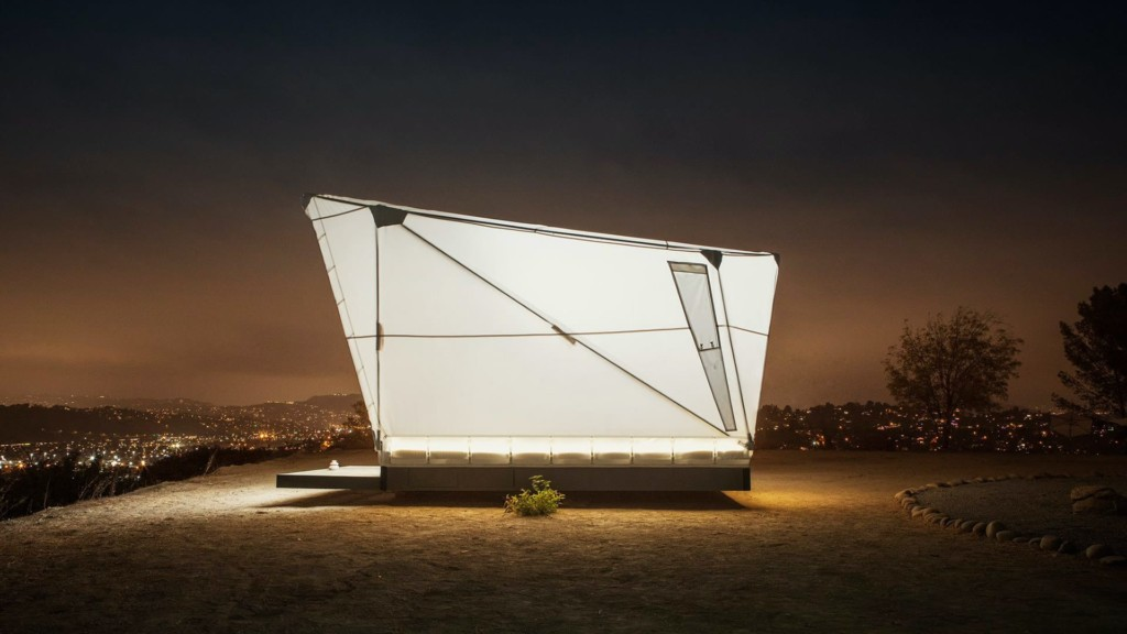 upe flat-packed shelter