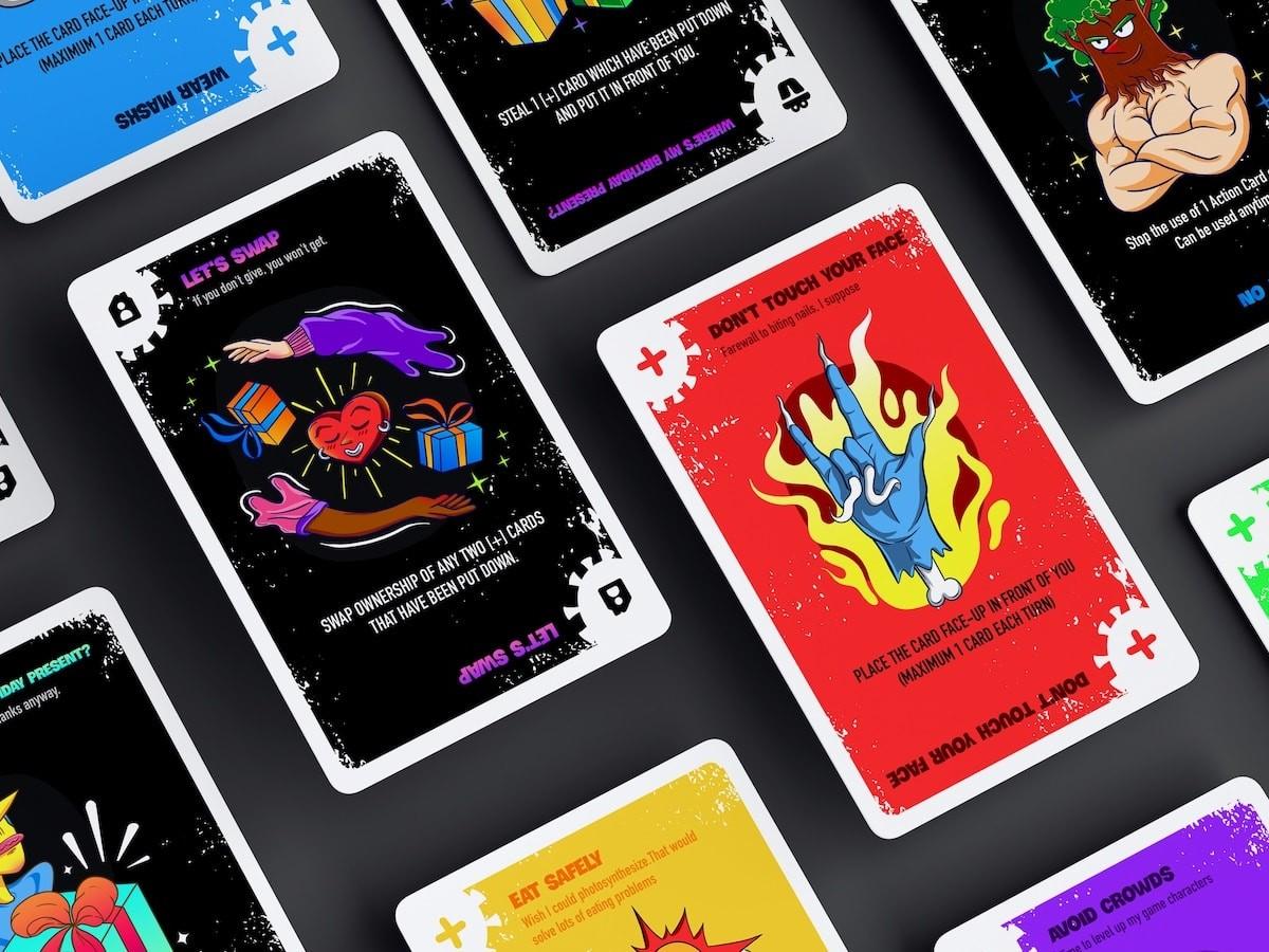 Korona strategic card game is based on fighting COVID-19