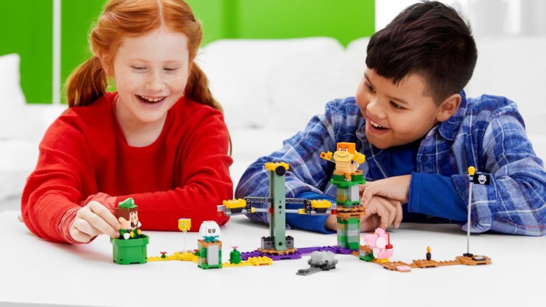 LEGO Adventures with Luigi Starter Course incorporates friends, enemies, and challenges