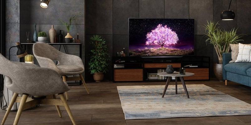 LG C1 83 inch Class 4K Smart OLED TV 01