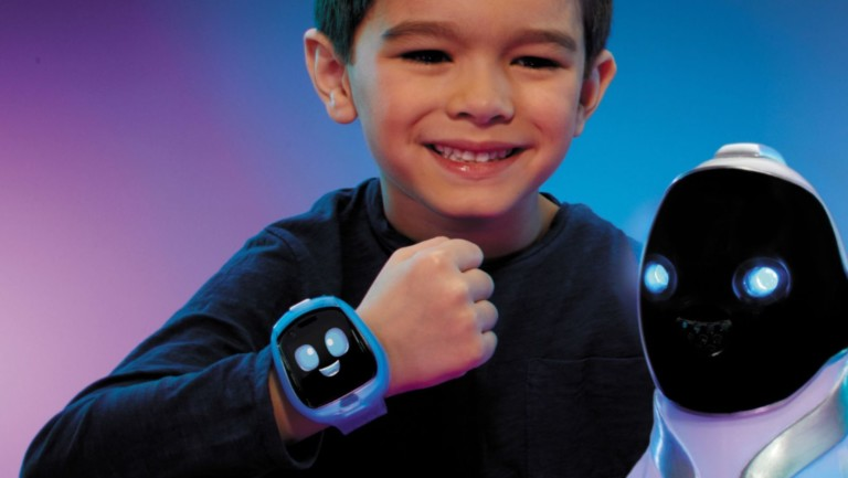 Little Tikes Tobi Robot Smartwatch for kids has fun moving robotic arms and legs