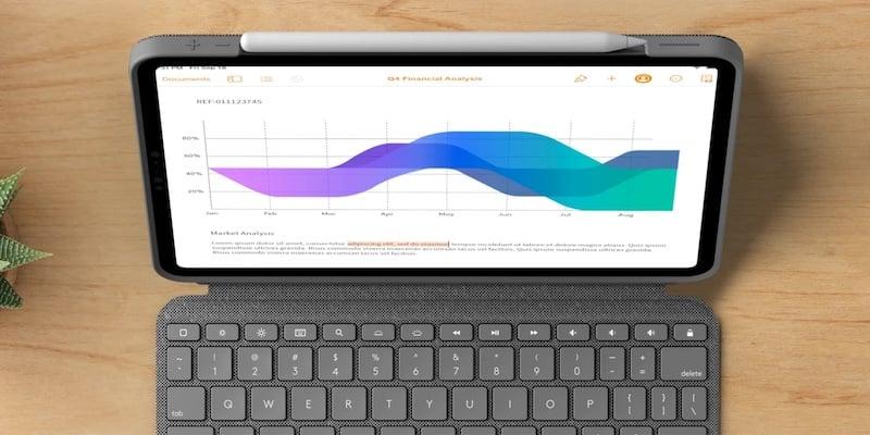Logitech Combo Touch iPad Pro Keyboard Case