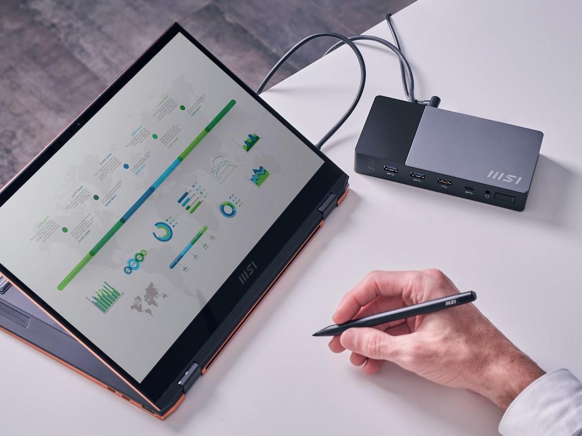 MSI Summit E13 Flip Evo 2-in-1 laptop boasts a 16:10 Golden Ratio display