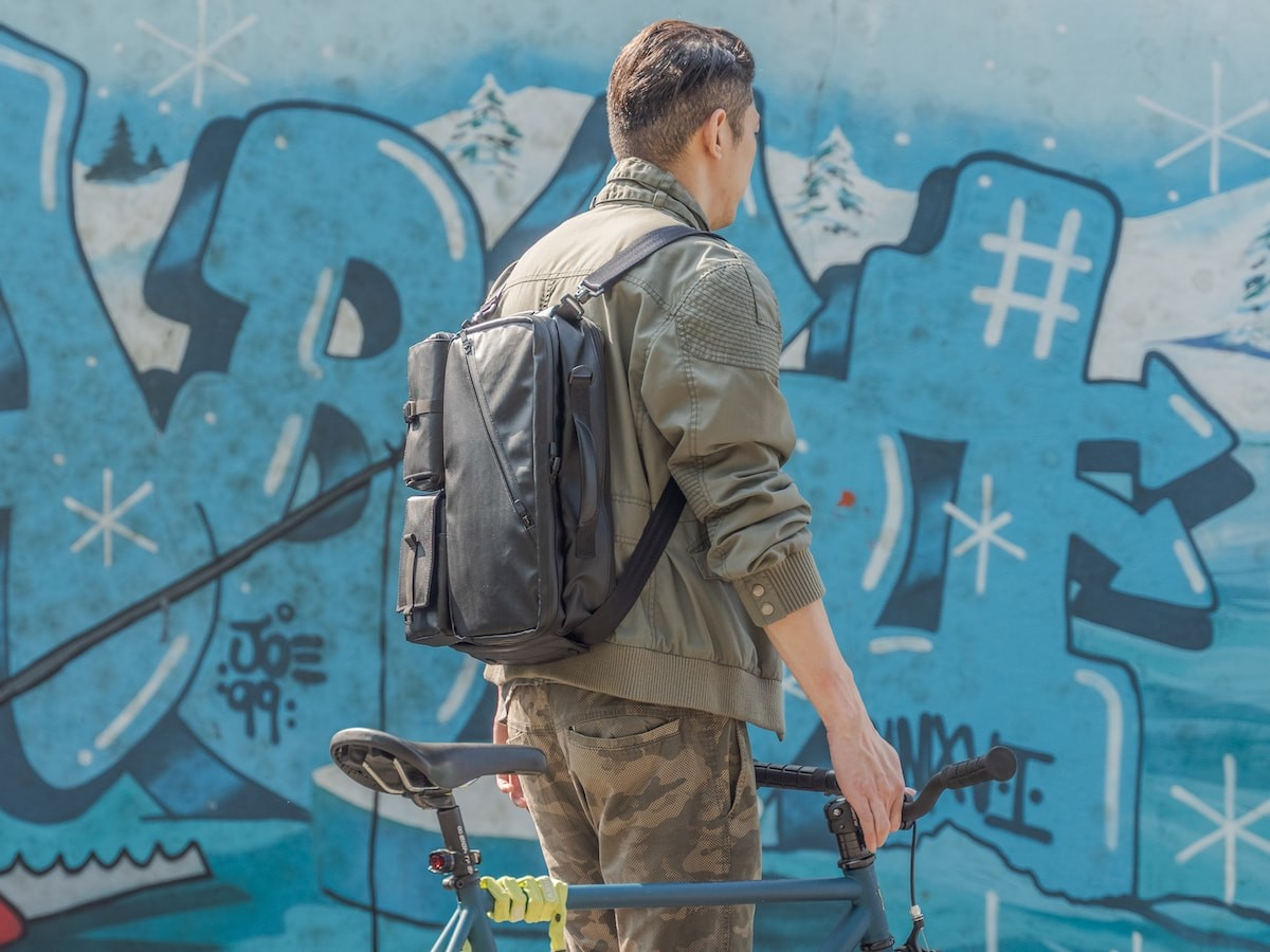 MX-GEAR SLIDER PACK modular utility backpack gives you 8 different styles